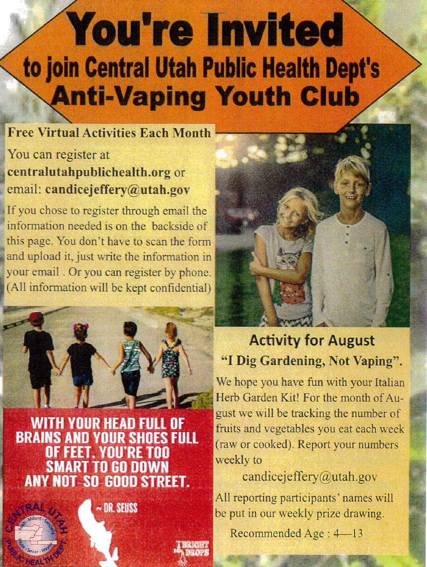 Anti-Vaping Youth Club